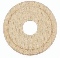 Rosace simple hêtre finition bois brut