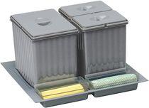 Poubelle de tiroir pour Tandembox avec bacs de rangement pour meuble de 600 mm