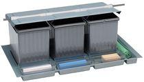 Poubelle de tiroir pour tandembox avec couvercle basculant pour meuble de 900 mm