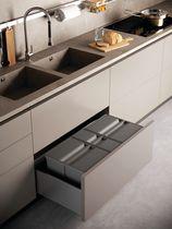 Poubelle de tiroir grande capacité 9XL pour meuble de 600 mm