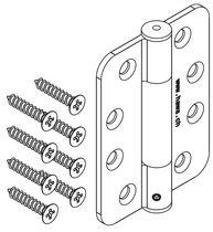 Charnière acier inoxydable HAWA Variofold/Centerfold 80/H