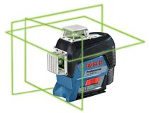 Laser plan vert connecté 3 axes GLL3-80C 12V + support BM1
