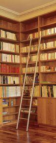 Echelles de bibliothèque Cuivrinox