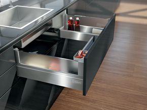 Eléments pour tiroirs sous-éviers intivo
